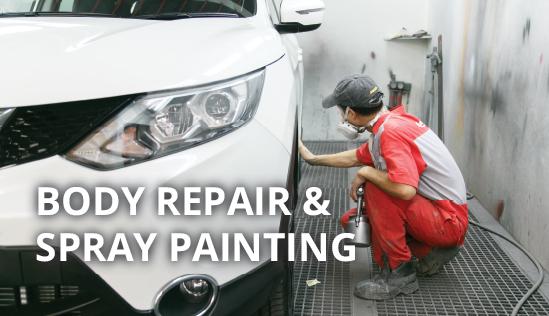 Excel Car Body Repair Spray Painting