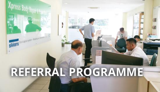 Excel Car Referral Programme